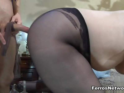MaturesAndPantyhose Video: Flo and Benjamin