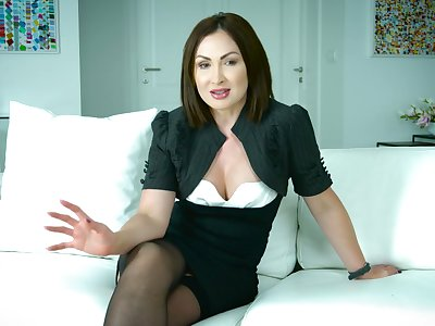 Remarkable horny put to use with flirty sexy porn actress Yasmin Scott