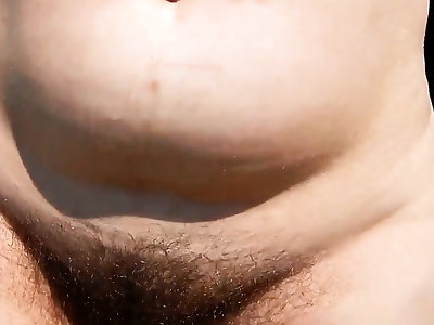 Hairy of age outdoor
