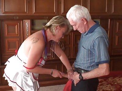 Nurse more the Rescue - mature porn video