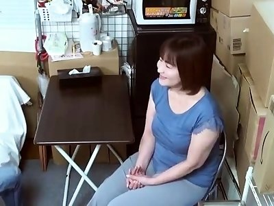 Mature Japanese Mother Blowjob