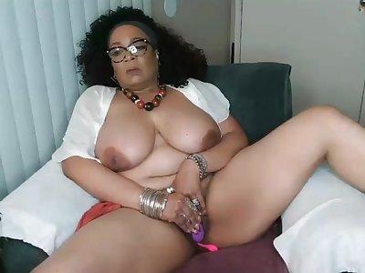Hispanic lustful mommy exciting webcam masturbation truss
